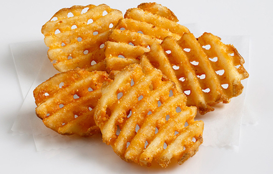 how to make seasoned fries with frozen fries