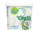Yoghurt Greek Natural Unsweetened 1kg FNF