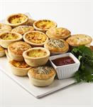 Savouries & Quiche Assorted 10x6pk Frozen FRENCH BAKERY