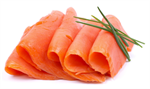 Salmon Slices Smoked 500g Norwegian Frozen ATLANTIC KING