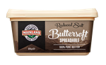 Butter Buttersoft Reduced Salt 375g MAINLAND