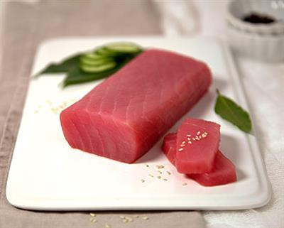 Tuna Saku Yellow Fin Frozen SHORE MARINER