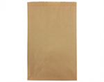 Bag Paper Flat Brown Size #9 CASTAWAY