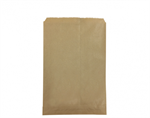 Bag Paper Flat Brown Size #2 CASTAWAY