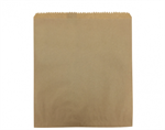 Bag Paper Flat Brown Size #4 CASTAWAY