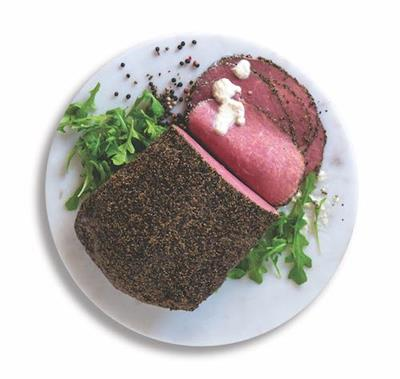 Beef Pastrami Sliced Cooked 500g FARMLAND