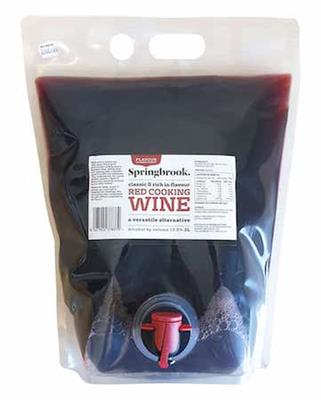 Wine Red Cooking 3L SPRINGBROOK