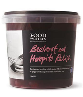 Relish Beetroot & Horopito 1kg FOOD BY CHEFS