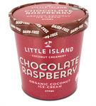 Ice Cream Choc Raspberry 5L Frozen Dairy-Free LITTLE ISLAND