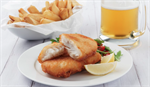 Fish Cod Beer Battered Fillets 3kg Frozen SHORE MARINER